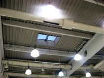Plafondlichten Stock Afbeeldingen