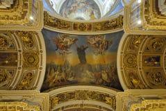 Plafonds d'une cathédrale Photographie stock libre de droits