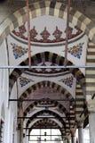 Plafonds en dehors d'une mosquée photographie stock libre de droits