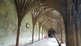 Plafonds et couloir d'église Photographie stock libre de droits
