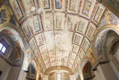 Plafondschilderijen van de kapel van het Ziekenhuis DE Santiago, Ube Royalty-vrije Stock Fotografie