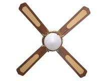 Plafondventilator met het knippen van weg Stock Foto's