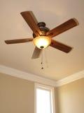 Plafondventilator met venster 1 royalty-vrije stock foto's