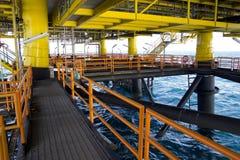 Plaform d'huile images stock