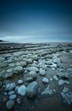 Plage à la baie de Dunraven Photos stock