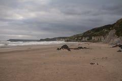Plage à la côte irlandaise Image stock