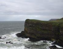 Plage à la côte irlandaise Photos libres de droits