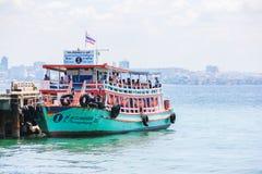 Plage à la journée, Thaïlande Images stock