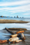 Plage 3 à la poussée de La, côte de Washington Photos libres de droits