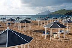 Plage à St Kitts image libre de droits