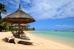 Plage Îles Maurice Image libre de droits