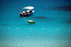 Plage 1 de Pulau Redand photographie stock libre de droits