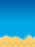 plage illustration stock