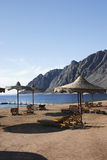 Plage 95 dans Dahab Egypte photo stock