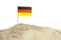 Plage allemande image libre de droits