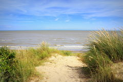 Plage Angleterre Royaume-Uni de Lydd-sur-mer Photographie stock
