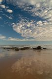 plage arénacée Photo libre de droits
