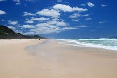 plage arénacée Images libres de droits