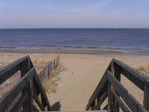 Plage au compartiment de chesapeake Photo libre de droits