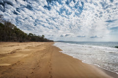 Plage au Queensland, Australie Photo stock