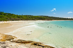 Plage australienne Images stock