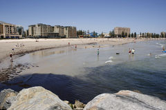 Plage australienne Photos stock