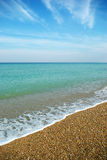 plage belle Photos stock