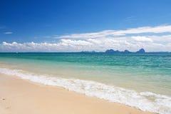 plage belle Image libre de droits