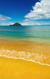 plage belle Photographie stock libre de droits