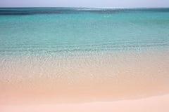Plage blanche de sable image libre de droits