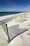 Plage blanche de sable Image stock