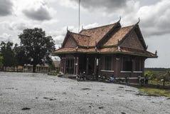 Plage blanche du KOH KONG dans la PROVINCE de kong de KOH au Cambodge Image libre de droits