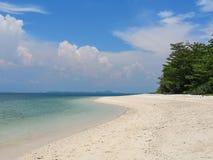 Plage blanche Koh Lao Liang, Trang, Thaïlande de sable photos libres de droits