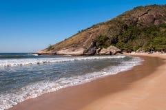 Plage brésilienne tropicale image stock