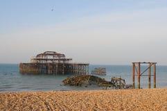 plage Brighton photos stock