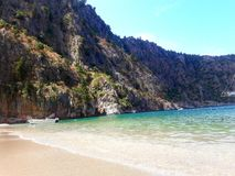 Plage Butterfly Valley images stock