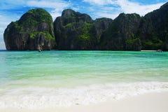 Plage célèbre en Thaïlande Photographie stock