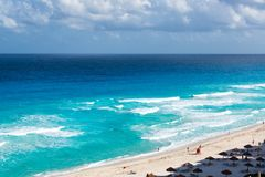 plage cancun Photo stock
