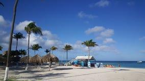 Plage chez Aruba Photos libres de droits