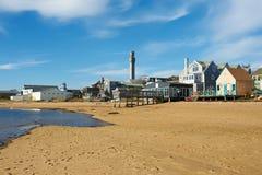 Plage chez Provincetown, Cape Cod, le Massachusetts Image stock