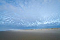 Plage Cloudscape de Siltcoos photos libres de droits