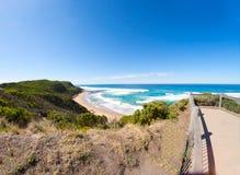 Plage d'été, Australie Photo libre de droits
