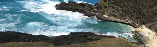 Plage d'éternité - Oahu Image libre de droits
