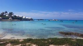 Plage d'île Photographie stock