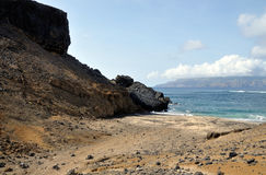 Plage d'île Images stock