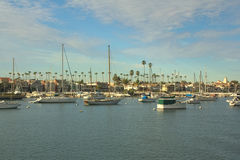 Plage d'île de Balboa, Newport, la Californie Image stock