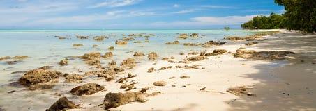 Plage d'île de Havelock Photographie stock