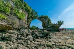 Plage d'île de Neills images libres de droits
