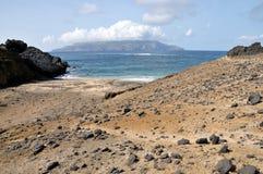 Plage d'îlot Photo stock
