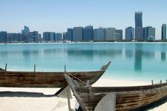 Plage d'Abu Dhabi Images stock